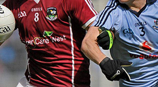 After failing to secure a jersey sponsor this year Galway teamed up with Cancer Care West as part of a joint fundraising drive. Dublin, however, have had no trouble attracting a number of sponsors, which now include Aer Lingus who were announced as official airline partner of Dublin GAA yesterday