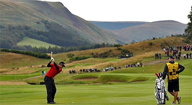 The Gleneagles course in Scotland where the 2014 Ryder Cup will be held