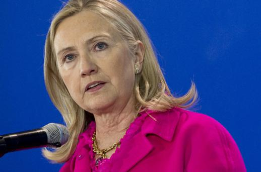 Clinton has said she will insist that Burma free all political prisoners. Photo: Getty Images
