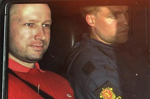 Breivik told the two psychiatrists that his mother was his 'Achilles' heel', and said that he hoped she would not attend his trial. Photo: PA