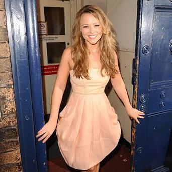 Kimberley Walsh would have liked to celebrate her 30th birthday with Sarah Harding