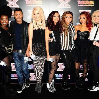 The X Factor semi-finalists are hoping for a number one with their charity single