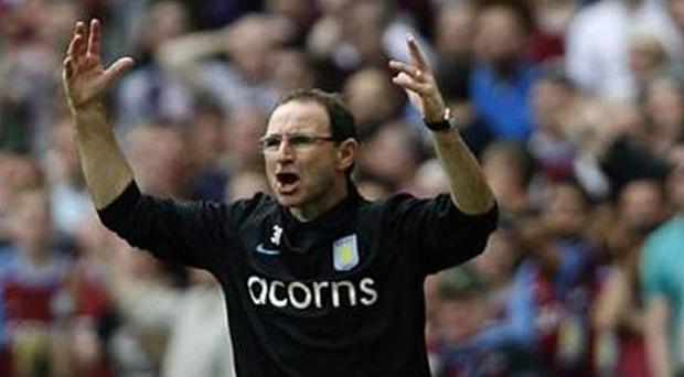 Sunderland will hope for the same kind of passion that Martin O'Neill displayed at Aston Villa