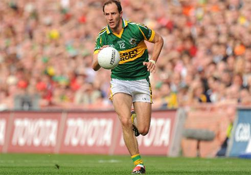 Tadhg Kennelly in action for Kerry