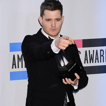 Michael Buble had his confidence shattered by Simon Cowell