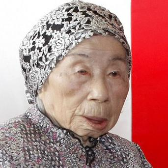 Chiyono Hasegawa, Japan's oldest person, has died aged 115 (AP)