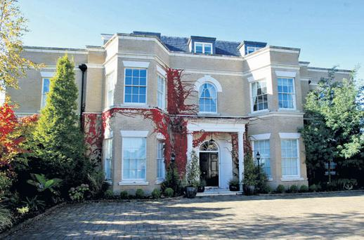No 20 Abington, Malahide, Dublin, the former home of David Drumm which will now be sold. COLIN KEEGAN