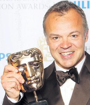 The entertainer: BAFTA winner Graham Norton earns more than £4m at the BBC