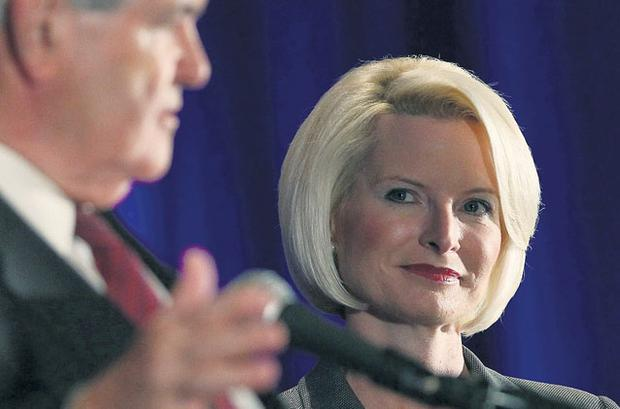 First lady in waiting? Callista Gingrich's expensive tastes have jarred with voters given her husband Newt's conservatism