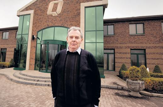 DEBT PILE: Sean Quinn, once worth €4bn, told a court in Northern Ireland that his assets now amount to less than £50,000. Photo: David Conachy