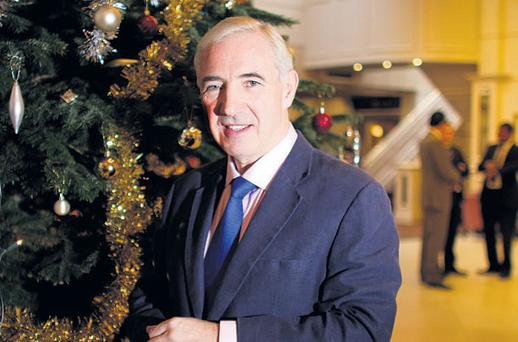 JE NE REGRETTE RIEN: Sean Dunne, in the refurbished Ballsbridge Inn, refuses to dwell on the past and his massive losses, saying 'We were all big boys'. Picture: David Conachy