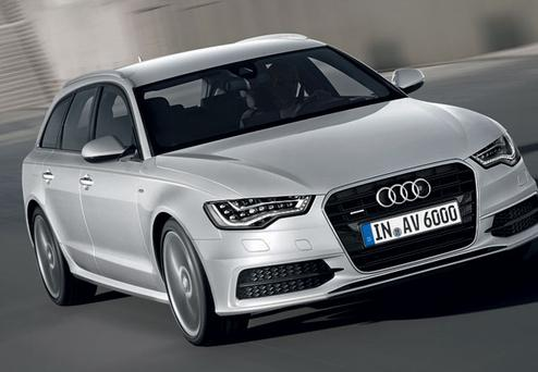AVANT GARDE: Audi is becoming increasingly popular among business executives