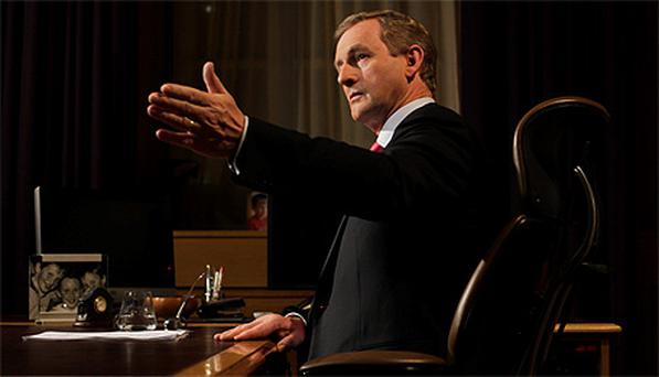 Enda Kenny addresses the nation on the upcoming budget