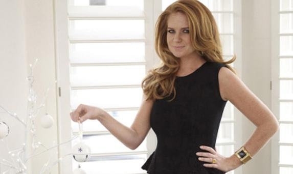 Patsy Palmer appearing in Hello magazine