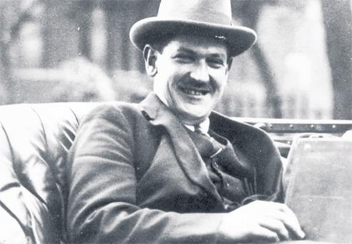 Michael Collins in London for the signing of the Anglo- Irish Treaty