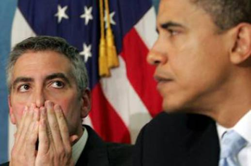 George Clooney was one of Barack Obama's most fervent supporters in the run-up to the 2008 election. Photo: Getty Images