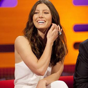 Jessica Biel plays a mum-to-be in the new film