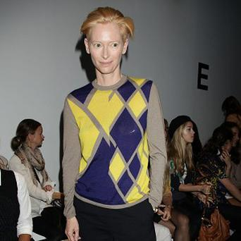 Tilda Swinton was recognised for her role in We Need To Talk About Kevin
