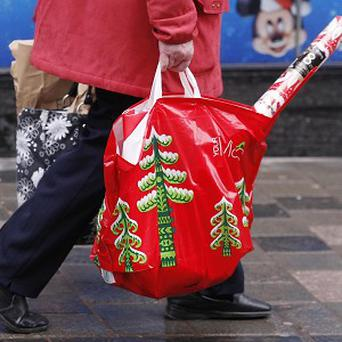 One in five shoppers complain of back problems after trudging around the shops in the run up to Christmas