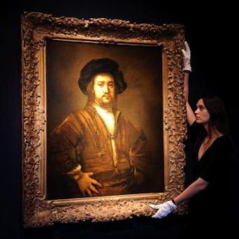 People in a study were shown real Rembrandt images, like this one, and fakes to see how reactions differed