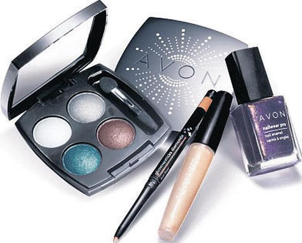 Avon sequins and shine collection