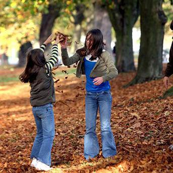 Children would like to be able to play outside more, a survey has found