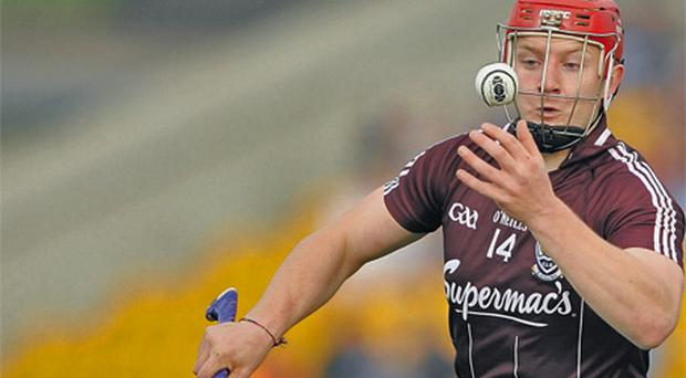 Galway's Joe Canning in action during his team's Leinster SHC defeat to Dublin earlier this year