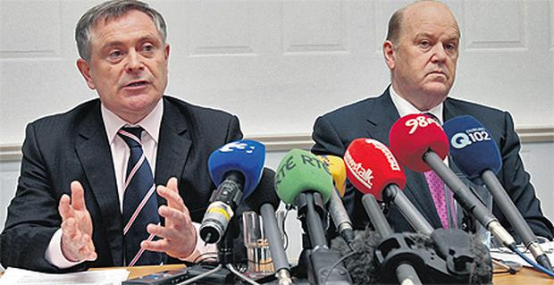 Delivering the Budget, Brendan Howlin looked almost apologetic but Michael Noonan appeared relaxed, even when being heckled