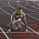 Sprinter James Ellington