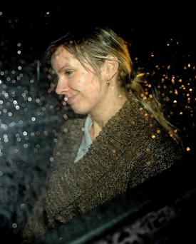 Michelina Lewandowska leaves Leeds Crown Court. PRESS ASSOCIATION Photo. Picture date: Tuesday December 6, 2011. The woman who was buried alive in a cardboard box by her boyfriend told a jury that she was sure he was going to kill her. Miss Lewandowska, 27, has told Leeds Crown Court that she was in the box for an hour in total and was left inside it in a wood near Huddersfield, West Yorkshire, for half this time before managing to escape. Yesterday, she described how she prayed to God as she struggled to get out and used her engagement ring to free herself. See PA story COURTS Wood. Photo credit should read: Anna Gowthorpe/PA Wire