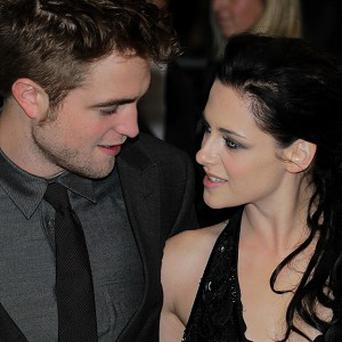 Robert Pattinson and Kristen Stewart made the top three on the list