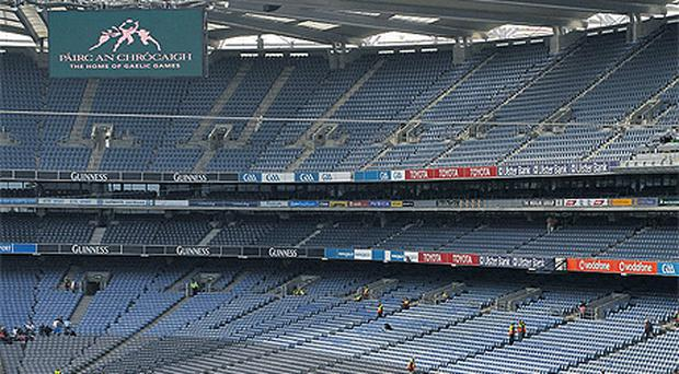 The Olympic torch will be abseiled off the roof of the Hogan Stand in Croke Park on June 6 in one of the most spectacular legs of the famous sporting symbol's journey