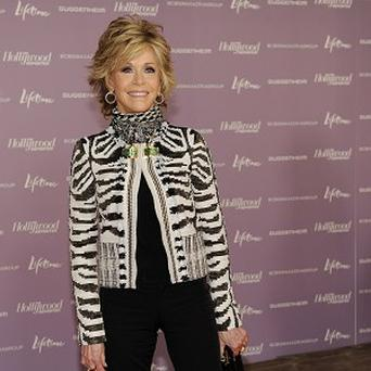 Jane Fonda received a special award for leadership