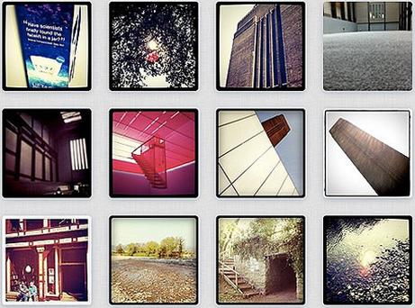 A selection of Instagram pictures