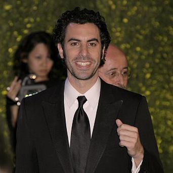 Sacha Baron Cohen is currently starring in animated film Hugo