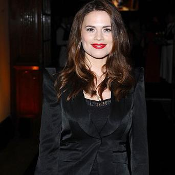 Hayley Atwell enjoyed the action scenes in the movie