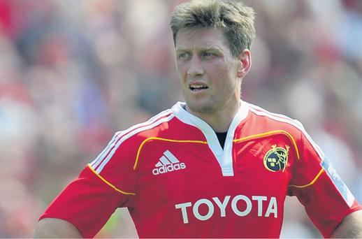 Ronan O'Gara plays his 100th Heineken Cup game for Munster against the Scarlets today