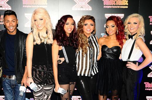 Marcus Collins, Amelia Lily and Little Mix will battle it out for the X Factor crown
