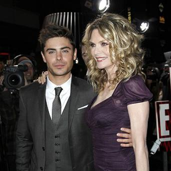 Zac Efron loved kissing Michelle Pfeiffer