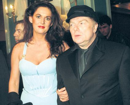 Mr Morrison with wife Michelle