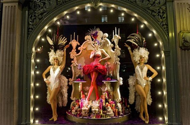 Fortnum and Mason Christmas window display, 2011. Photo: Getty Images