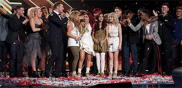 The X Factor had an average audience of 13.1 million