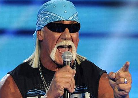 Hulk Hogan at a Video Game Awards ceremony in December 2011 in Culver City, California