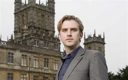 Dan Stevens at Highclere Castle: 'Maybe a drama set in a world where everyone knew their place is slightly comforting'