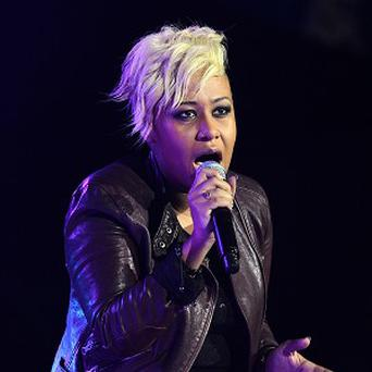 Emeli Sande is one of the three musicians nominated