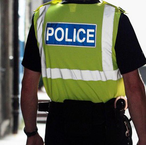 Four teenagers have been bailed pending further inquiries after thieves drove off with a car that had a five-year-old girl inside