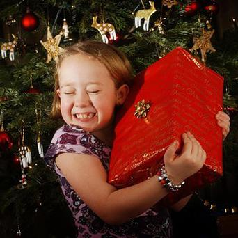 Children would rather spend time with their family than receive presents at Christmas, a survey suggests