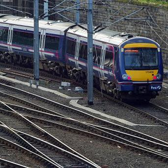 A youth was apparently removed from a ScotRail train from Edinburgh to Perth