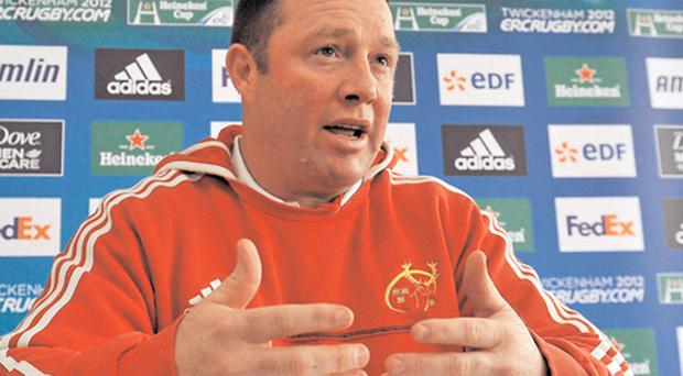 Munster coach Tony McGahan insists his players will take nothing for granted against Llanelli Scarlets this weekend
