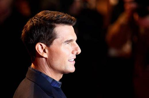 Tom Cruise at the UK premiere of Mission: Impossible
